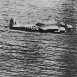In-Air Beaufort BX-E AW251 86 Squadron 1942