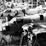 Beauforts at DAP assembly line Melbourne Australia 1942