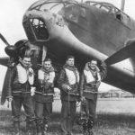 "RAF Crew by Bristol Beaufort L9939 AW-W ""Wreck"" 1941"