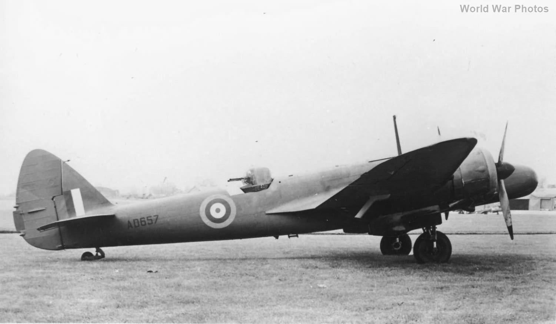 Bisley AD657 Blenheim Mk V 1941