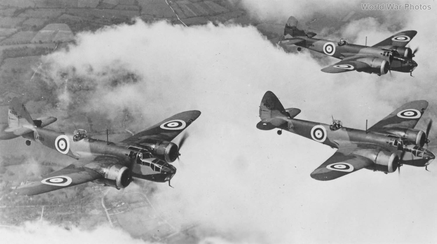 Bristol Blenheim IV bombers