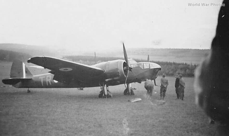 Blenheim L4859 TR-X 59 Sqn Belgium 15May40