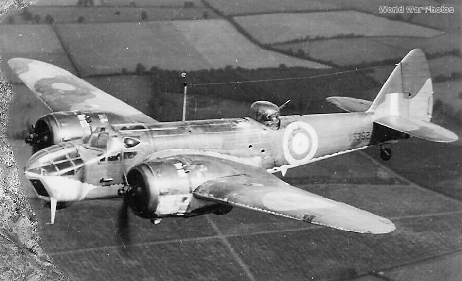 Bristol Blenheim Mk IV V5382