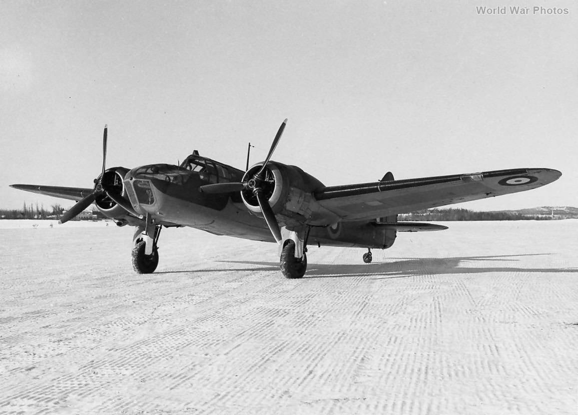 Bristol Blenheim MkIV Prototype K7072