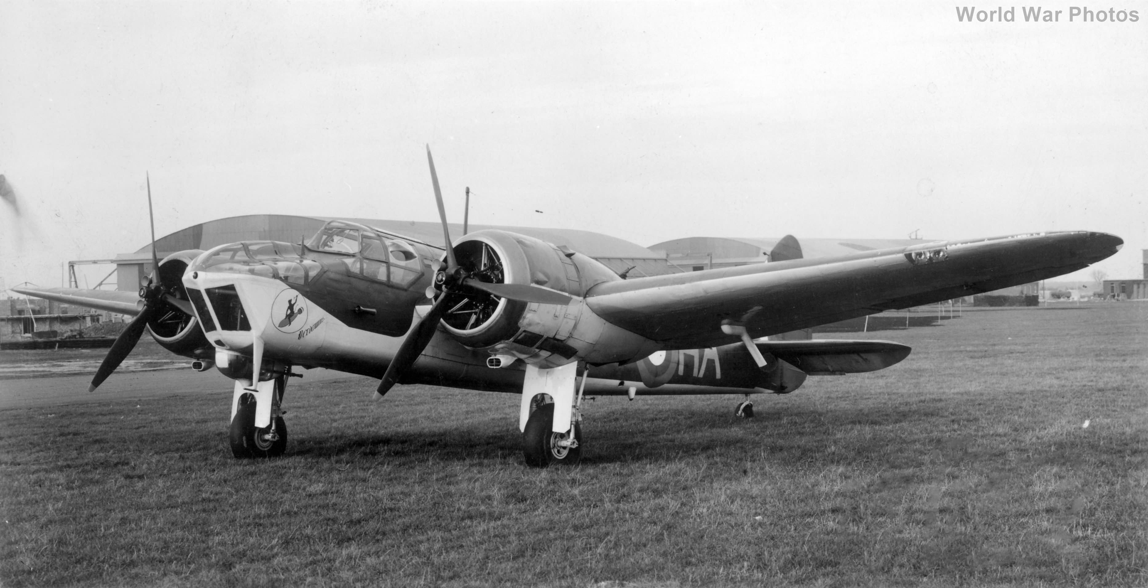 Bristol Blenheim T1996 218 aug40