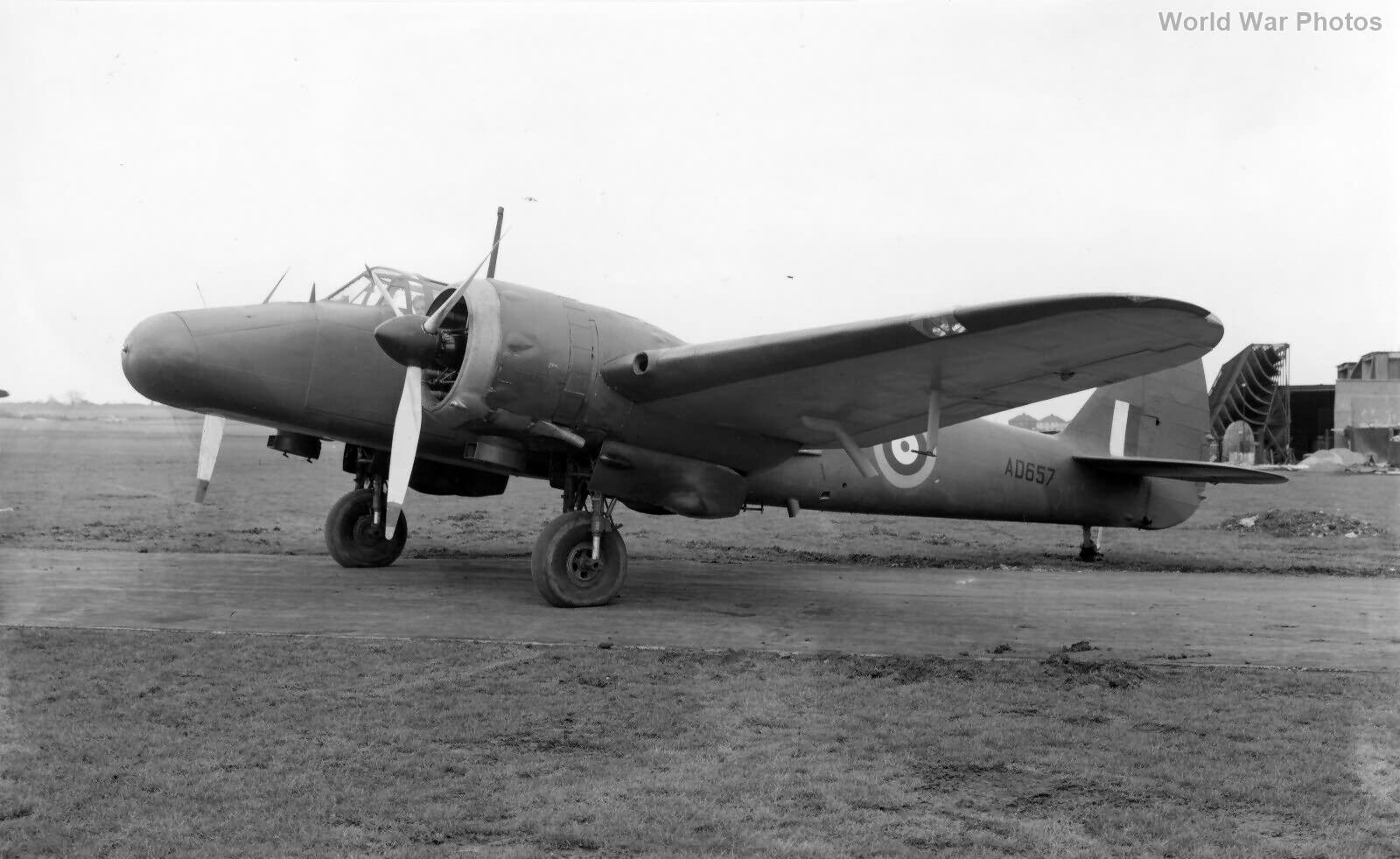Blenheim V AD657 Bisley Prototype