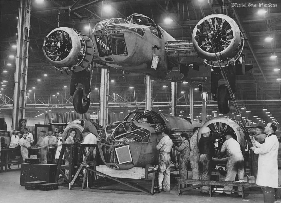 Blenheim factory 1942