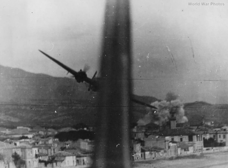 Blenheims 18 Sqn Bombing Raid Locri Italy 1941