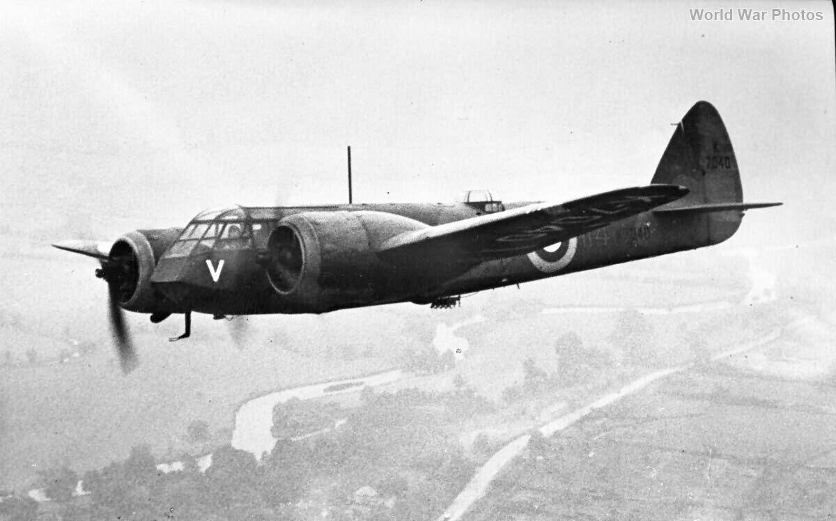Bristol Blenheim I K7040 114