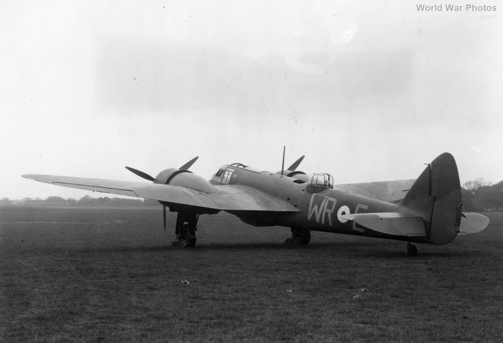 Bristol Blenheim If L1336 248 Sqn at Northolt