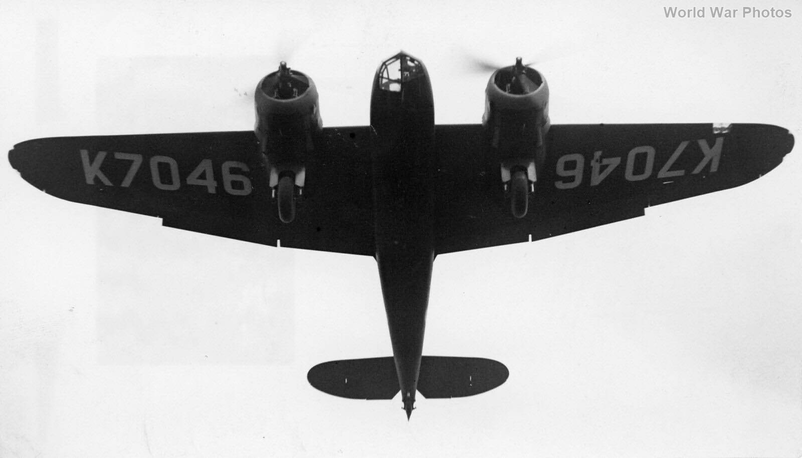 Blenheim K7046 114 Sqn Wyton 1937