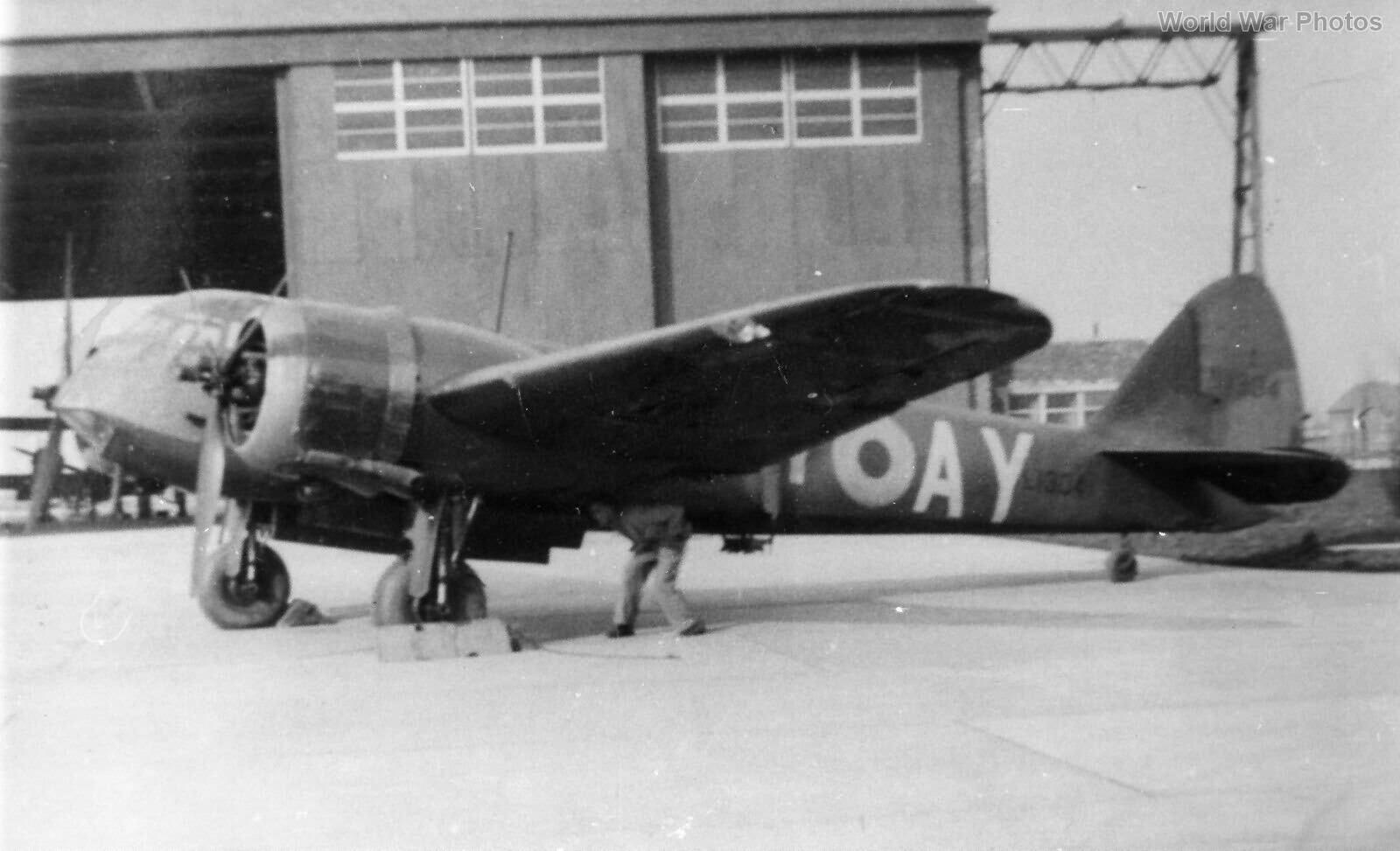 Bristol Blenheim L1304 110 Sqn