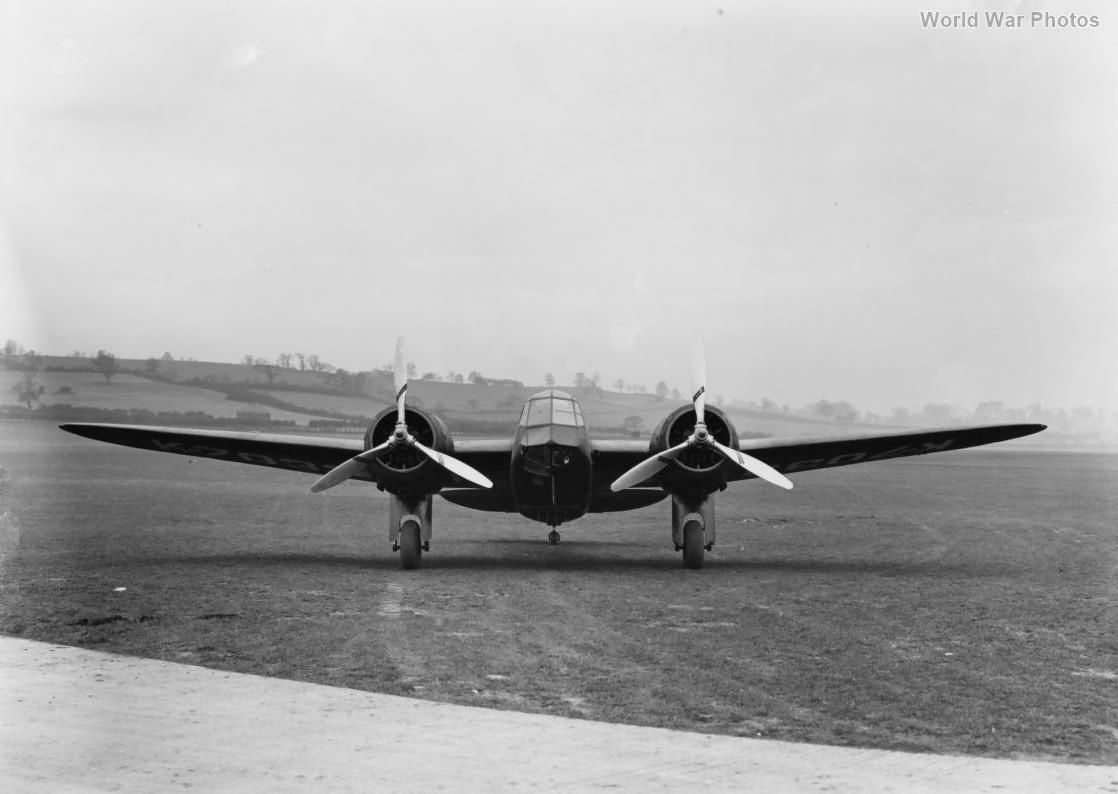Blenheim MkI K7033 Prototype