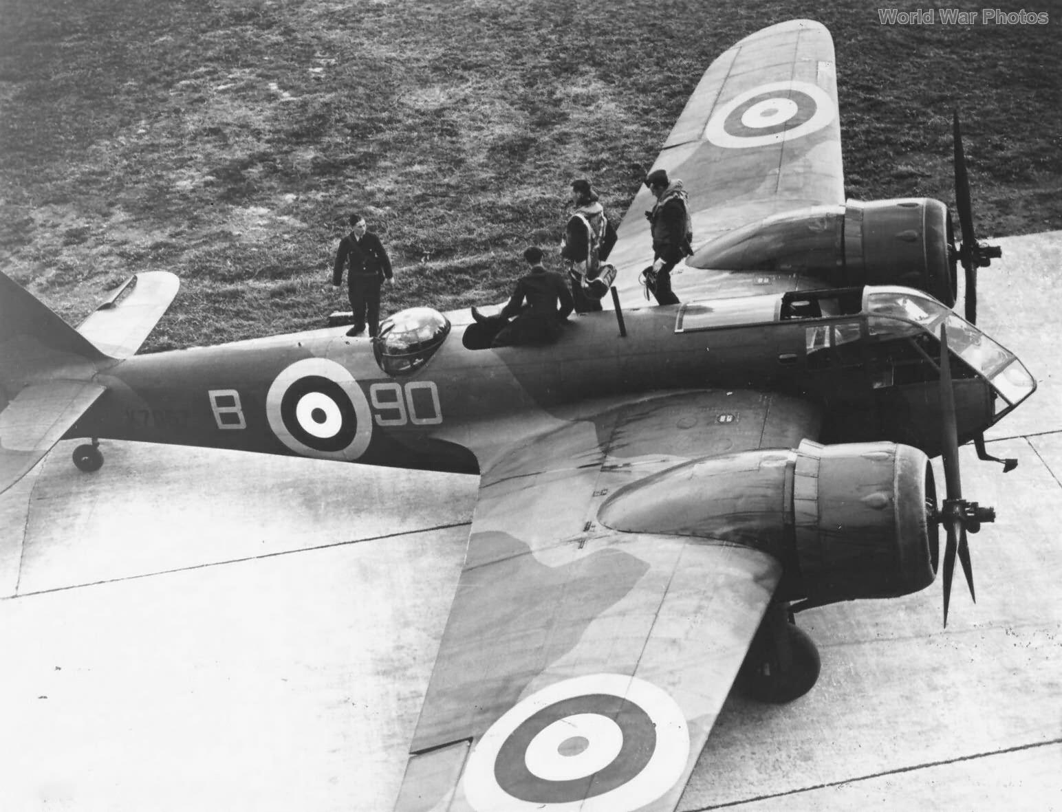 Bristol Blenheim No 90 Squadron