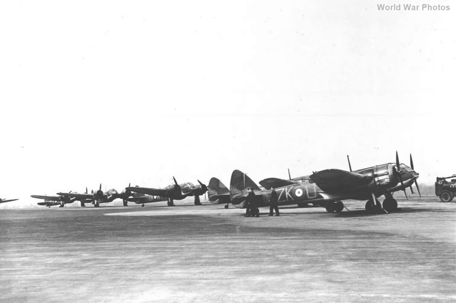 Bristol Blenheims IF 25 Squadron