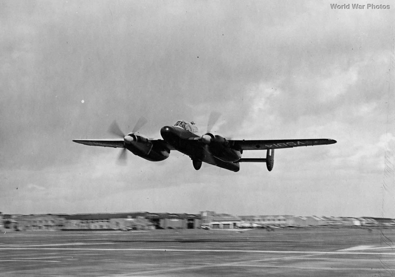 Bristol Brigand Mk 3 VS814 in flight
