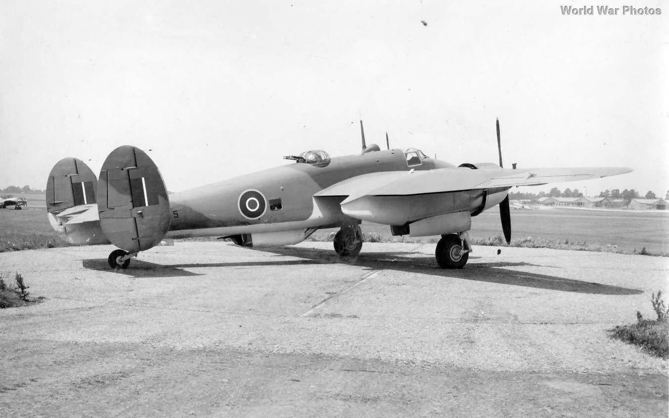 Bristol Buckingham B Mk 1 on the ground 1944