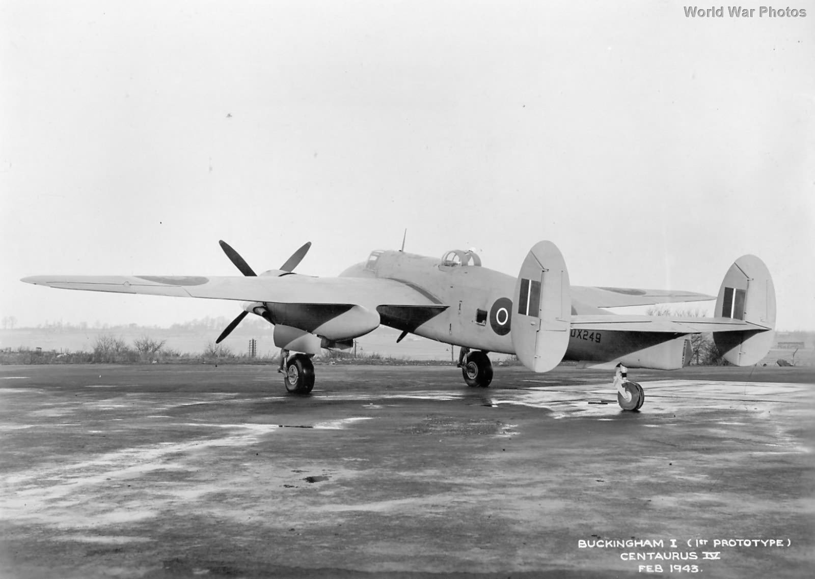 1st Prototype Bristol Buckingham DX249