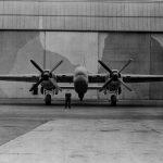 Buckingham in front of hangar 2