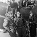 test pilots Feather Evans Neale 1940
