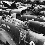 Battle Destroyed by Fleeing French at St Denis Airfield July 1940