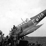 Fairey Battle HA-E P2192 of No. 218 Squadron RAF