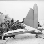Fairey Battle of No. 226 Squadron RAF tail – winter 1939/40