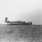 Fairey Battle of No.142 squadron RAF code QT+I 2