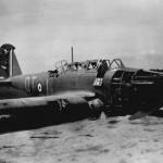 Fairey Battle of No. 142 squadron RAF code QT+I 3