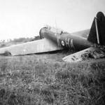 Fairey Battle of No. 218 squadron RAF code HA+K