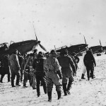RAF Aircrews Heading to Fairey Battle Bombers in France 1940