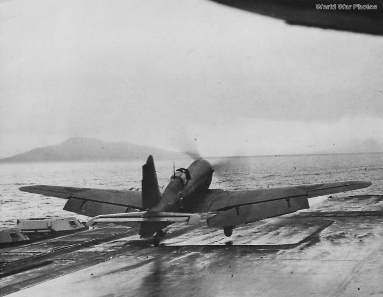 Firebrand II aboard HMS Illustrious 1943
