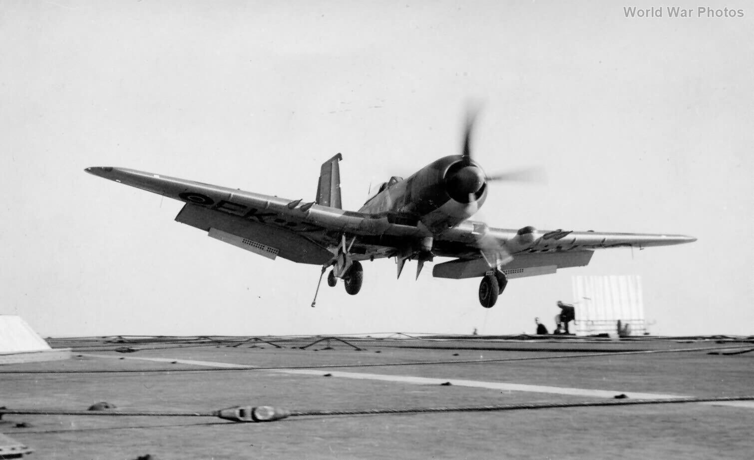 Blackburn Firebrand TF5 HMS Illustrious