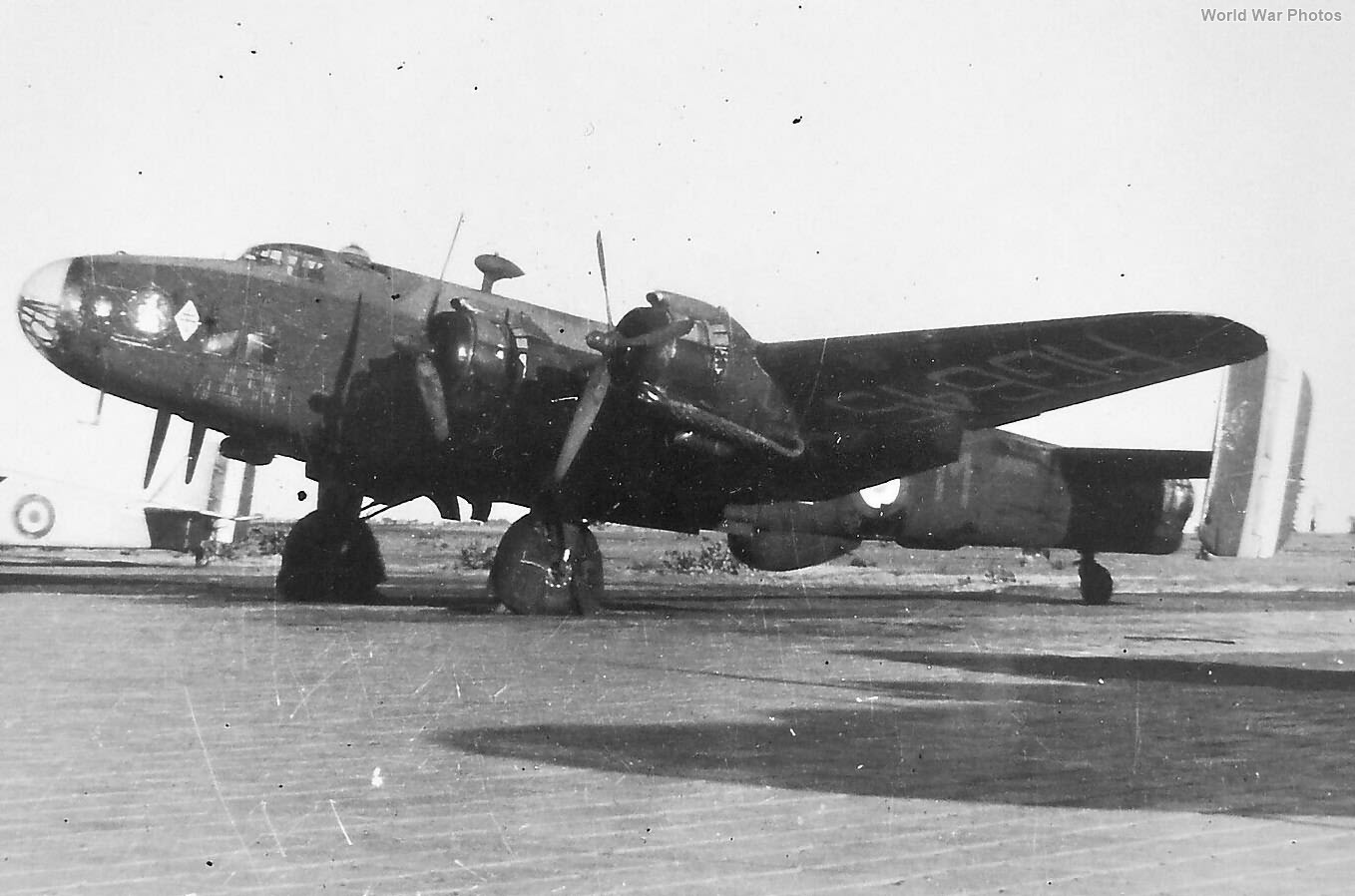 French Halifax B Mk VI RG645