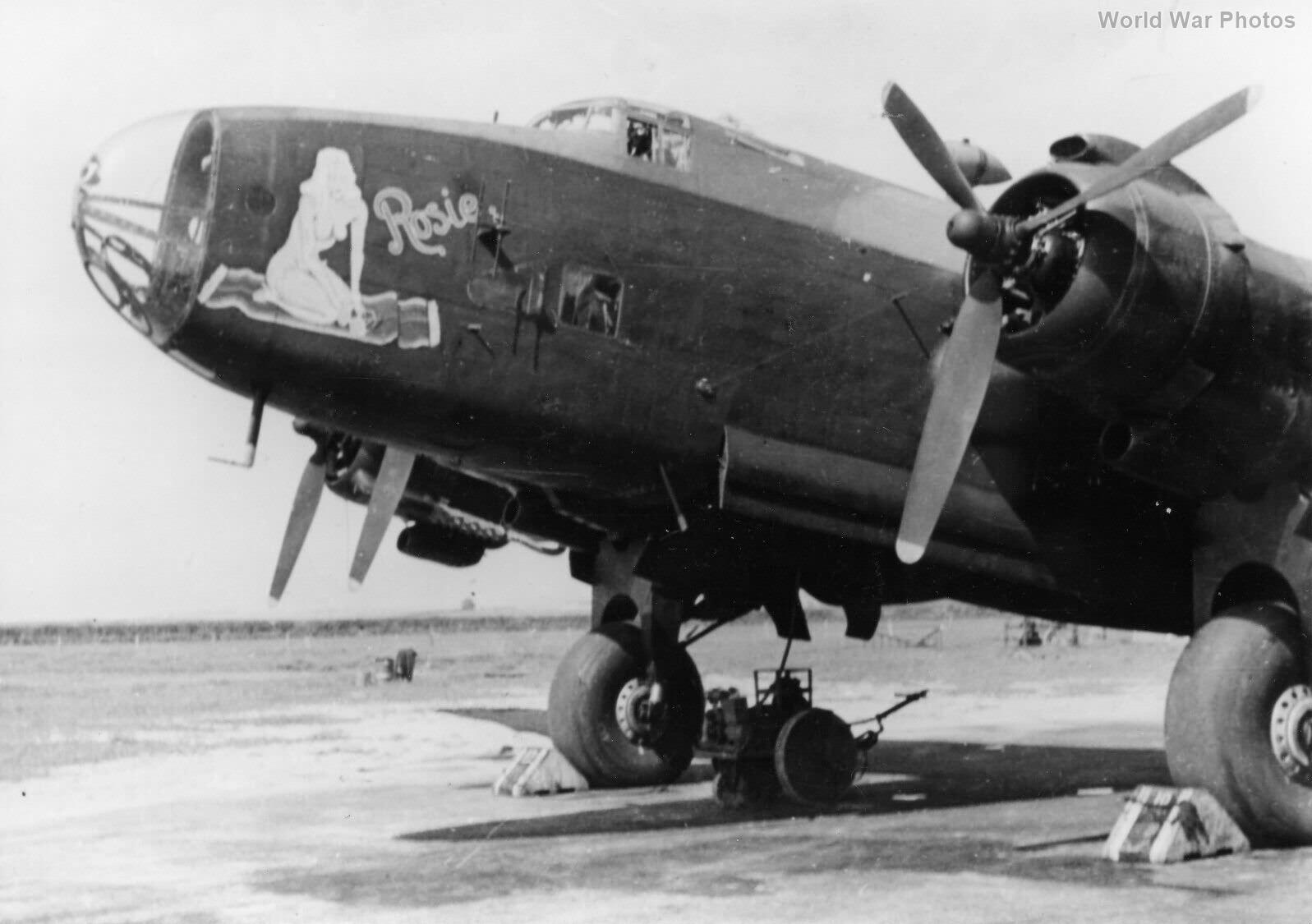 Halifax B VI 466 Sqn 45