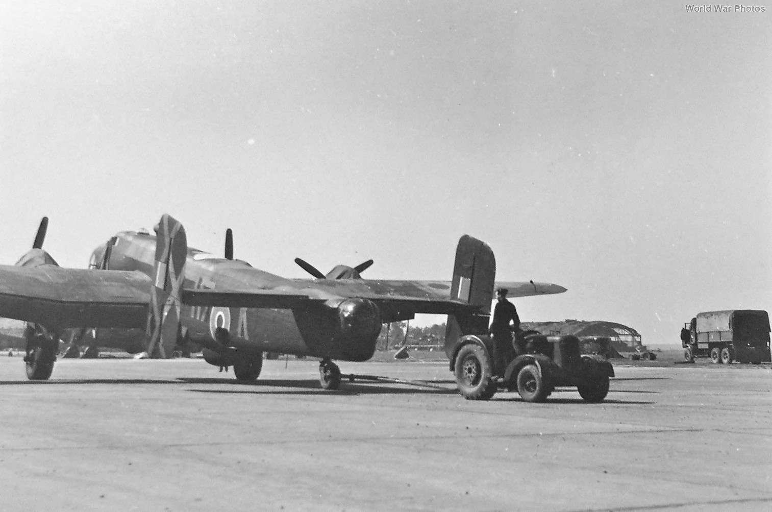 Handley Page Halifax H7-K of No. 346 (French) Squadron RAF