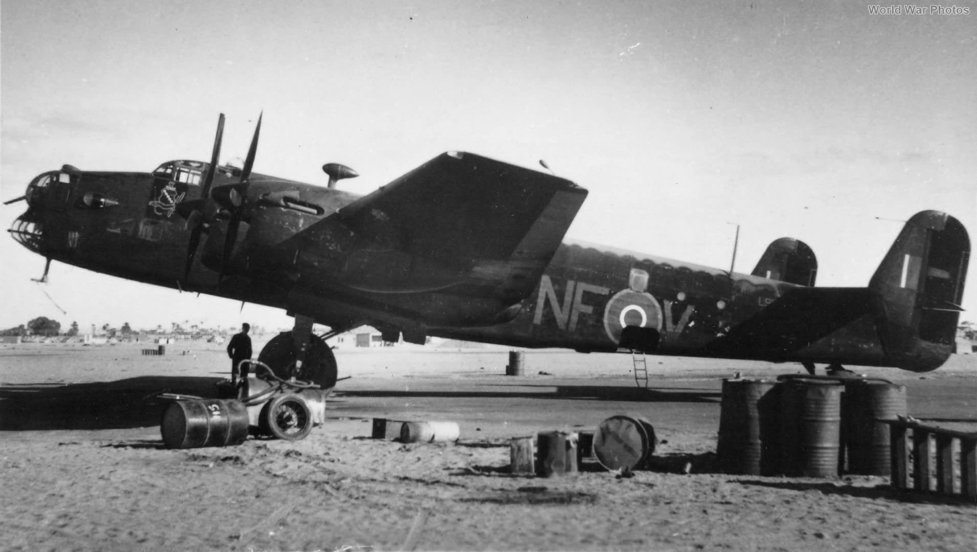 Halifax II L9613 NF-V 138 Sqn Egypt 1942