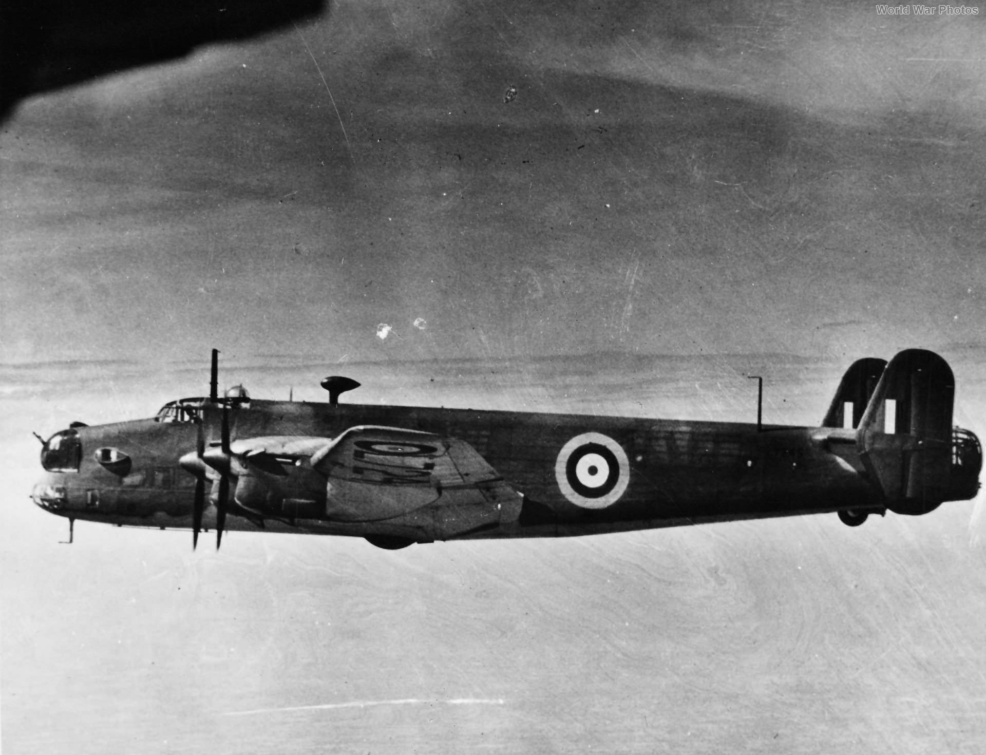Handley Page Halifax I L7245 second prototype
