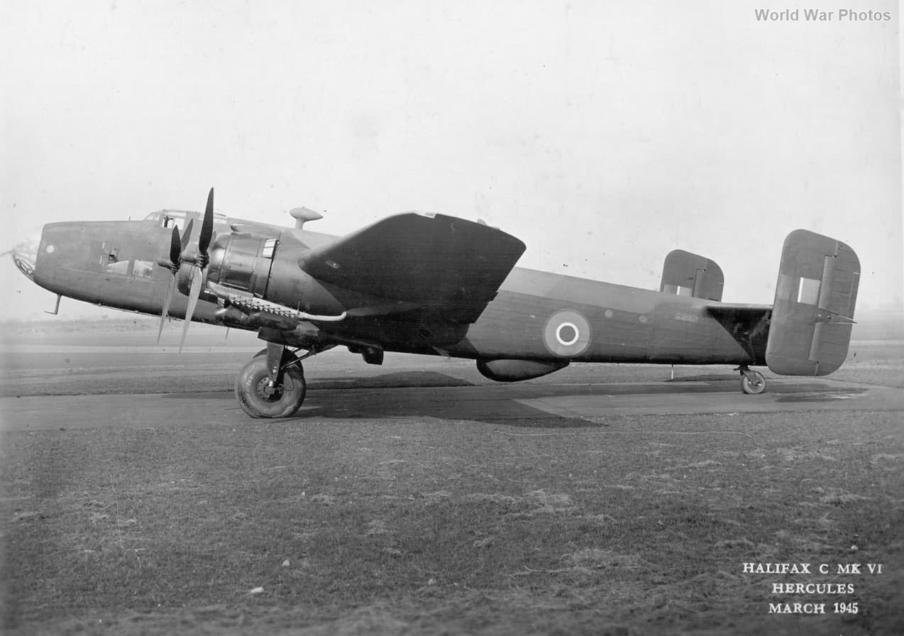 Handley Page Halifax transport