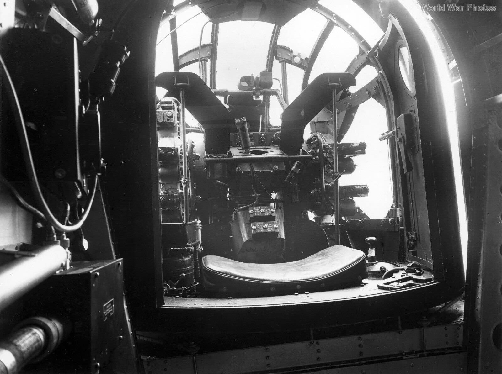 Halifax rear turret interior