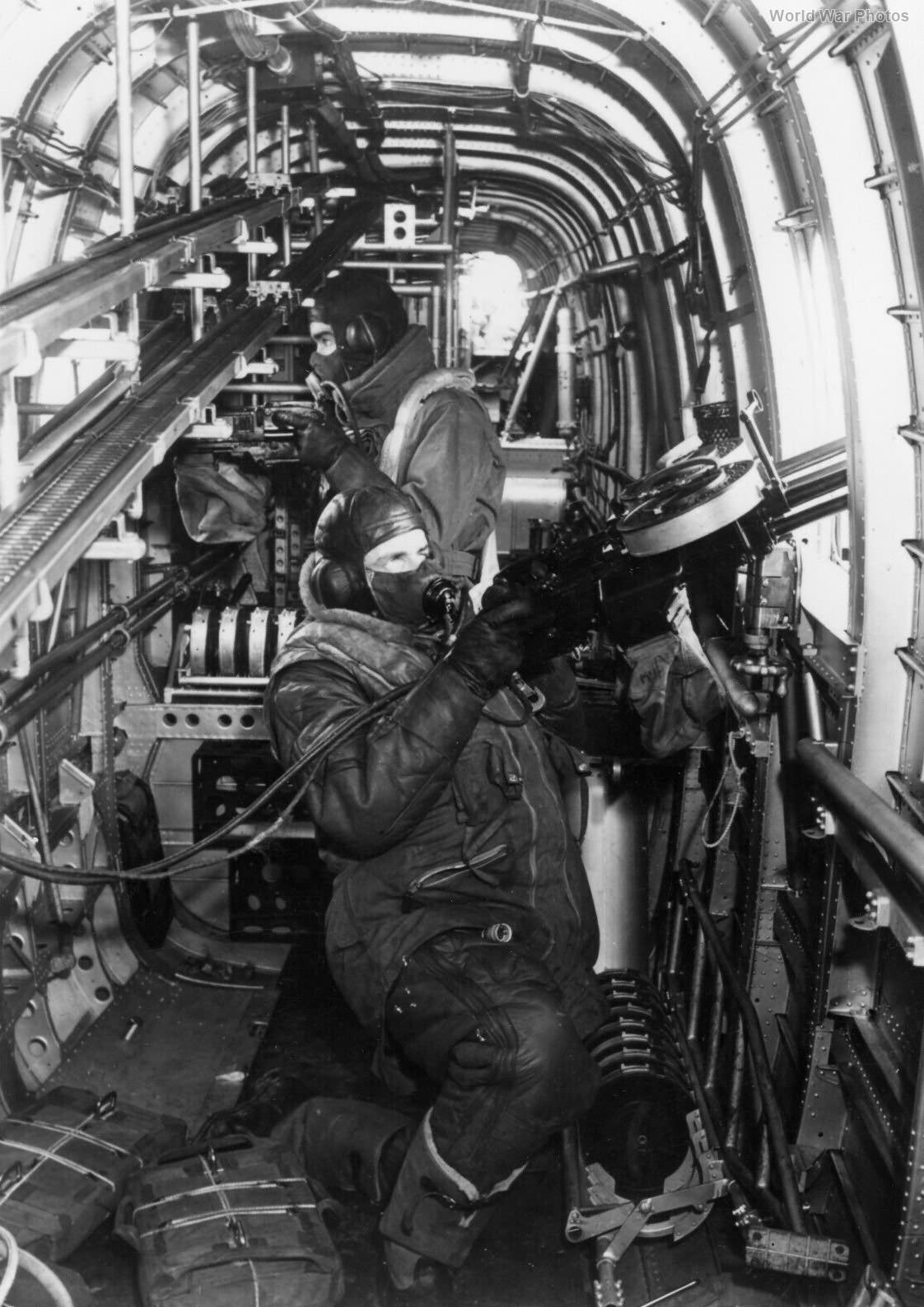Halifax waist gunner position