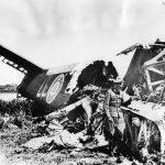 Shot Down Halifax bomber