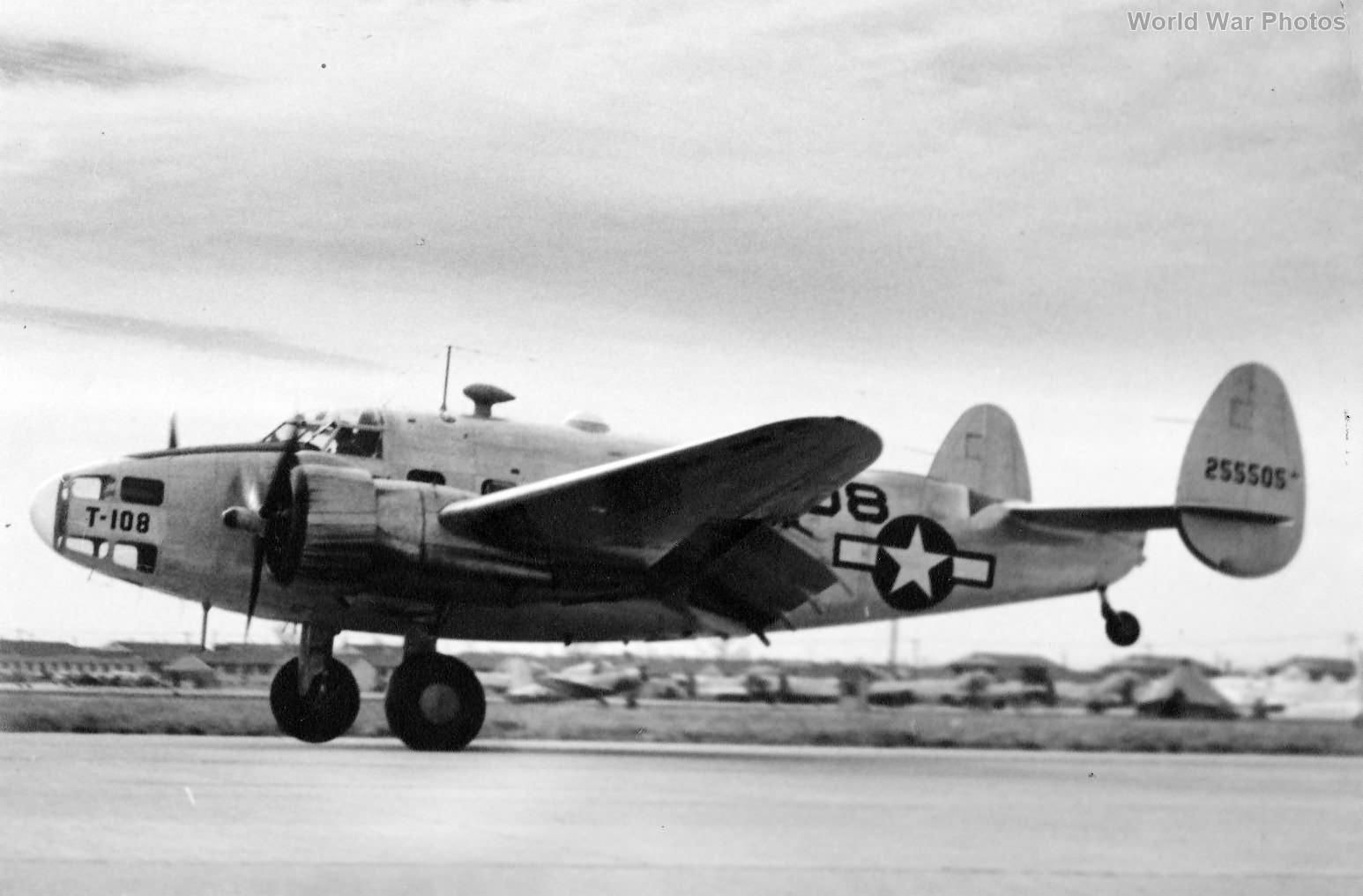 Lockheed AT-18A Hudson 42-55505