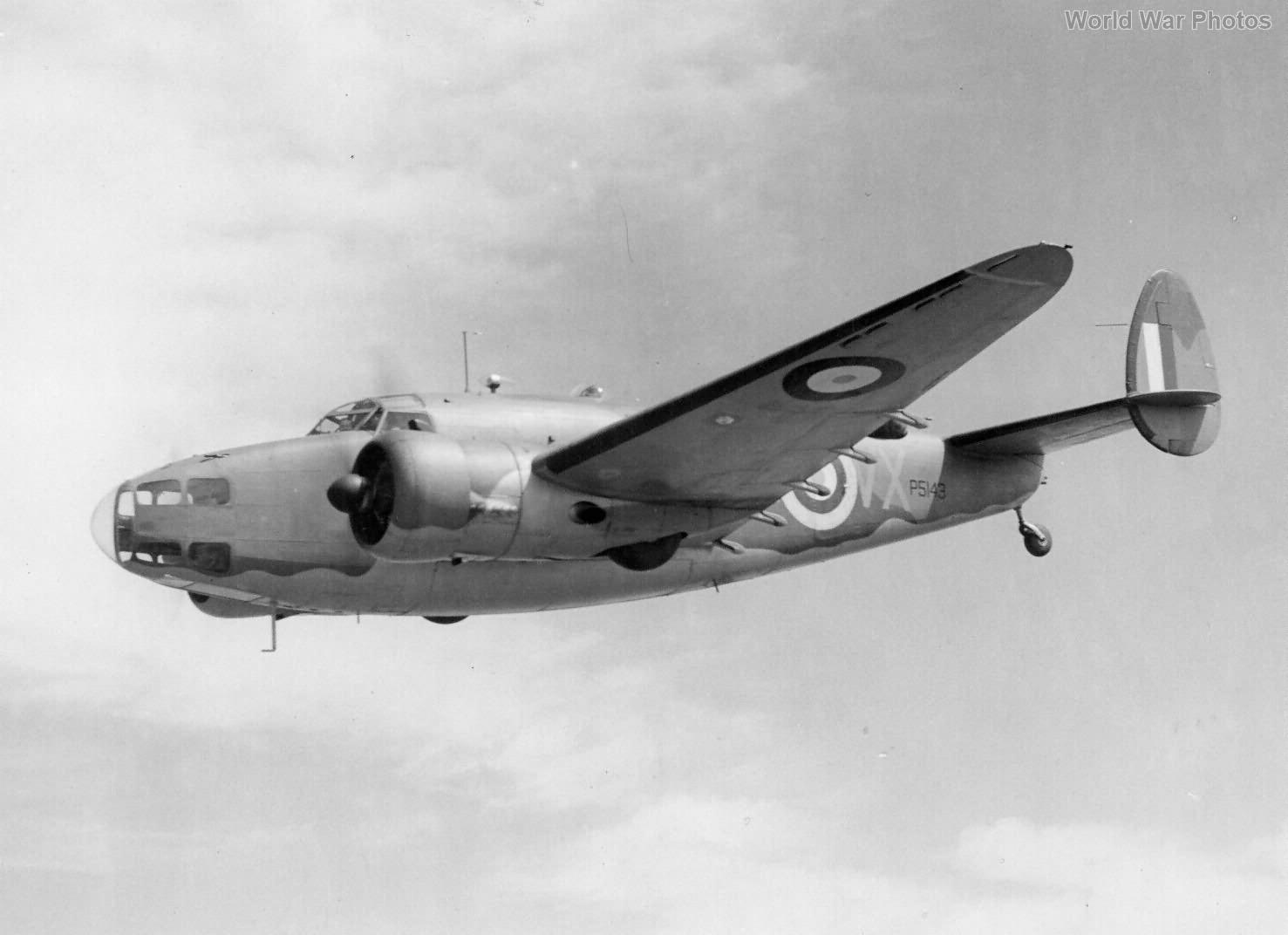 Hudson Mk.I in flight