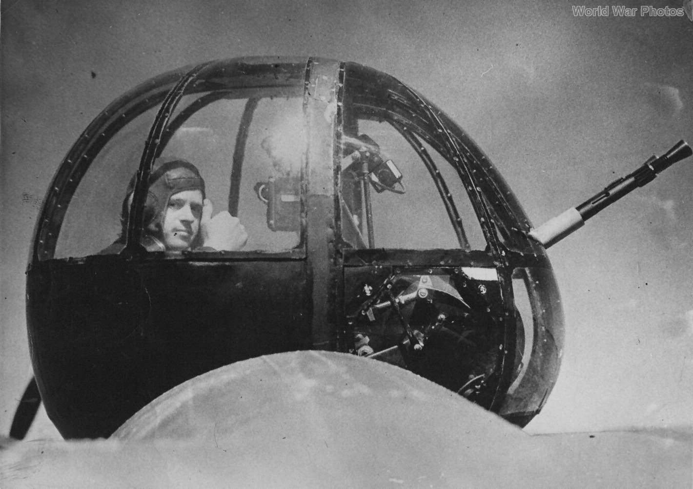 Lockheed Hudson Rear Gunner