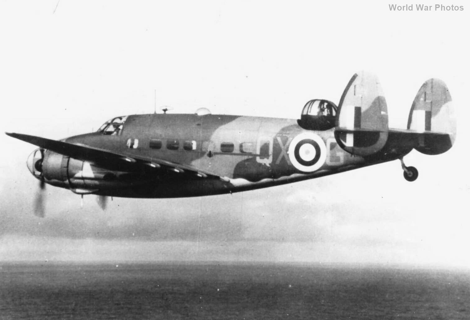 Lockheed Hudson V in flight