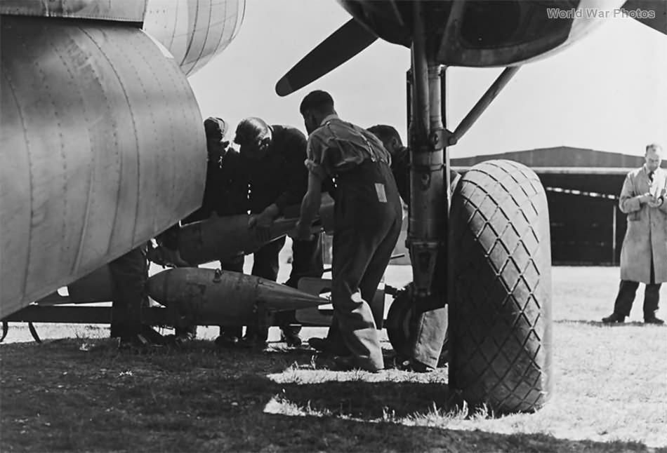 landing gear of Hudson