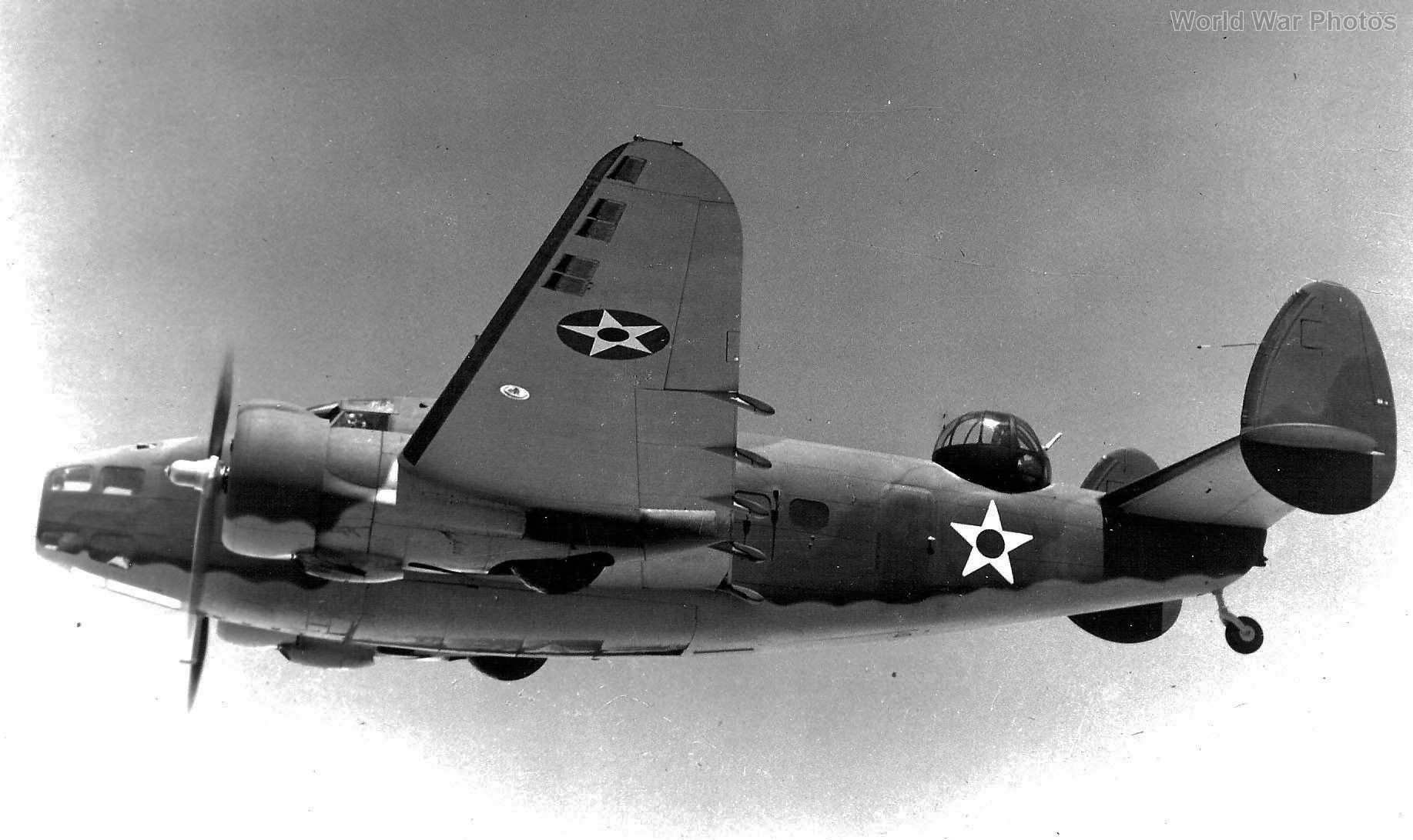 Lockheed PBO Hudson in flight