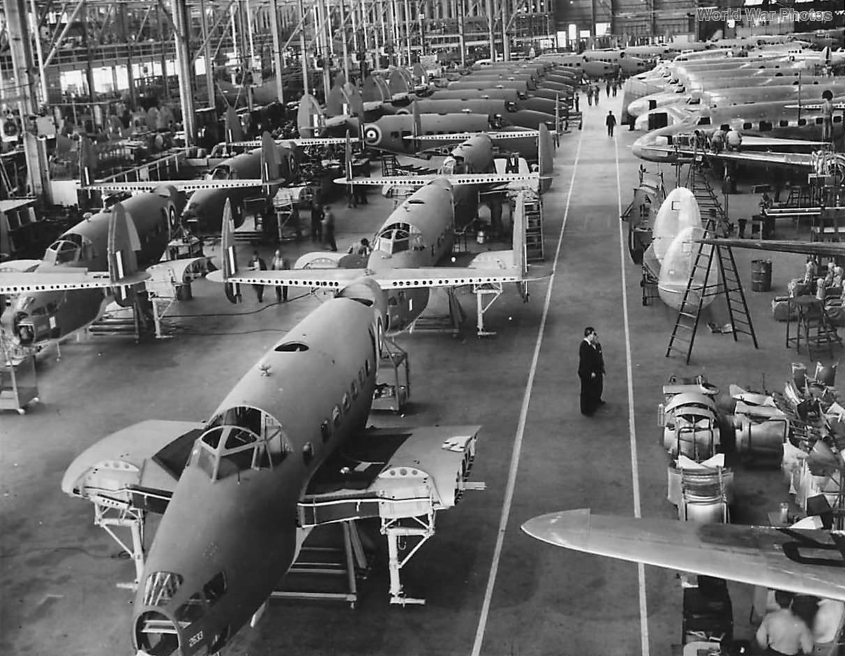 Hudsons on production line