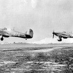 501 Squadron Hurricanes SD-N, SD-T at Gravesend during Battle of Britain